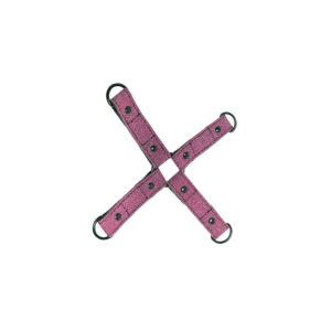 LUXURE : Croix d'entrave - rose