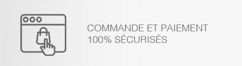 Commande et paiement 100% sécurisés